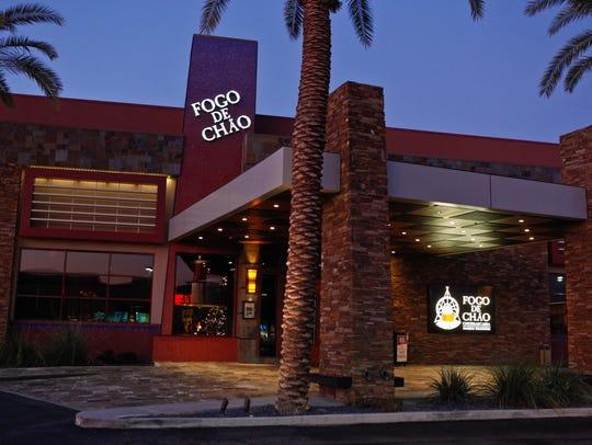 Fogo de Chao is a Brazilian steakhouse with locations across Phoenix.