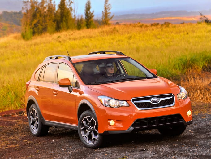 The versatile 2015 XV Crosstrek combines a bold five-door