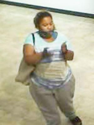 Athens-Clarke police are seeking to identity this suspect seen on surveillance footage inside the Sunglass Hut a Georgia Square earlier this month.