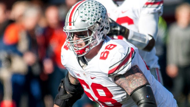 Ohio State offensive lineman Taylor Decker is a no-brainer pick for the Lions in the draft, ESPN's Todd McShay says.