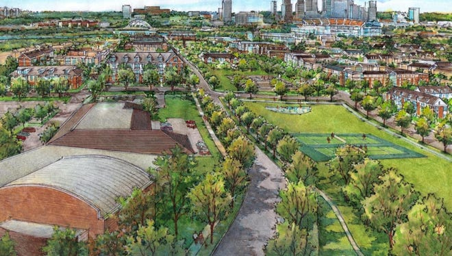 """Under Envision Cayce, the James A. Cayce Homes will be transformed into a """"mixed-income"""" community."""