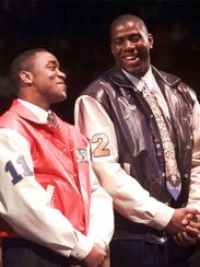 Magic Johnson had his longtime friend and rival Isiah