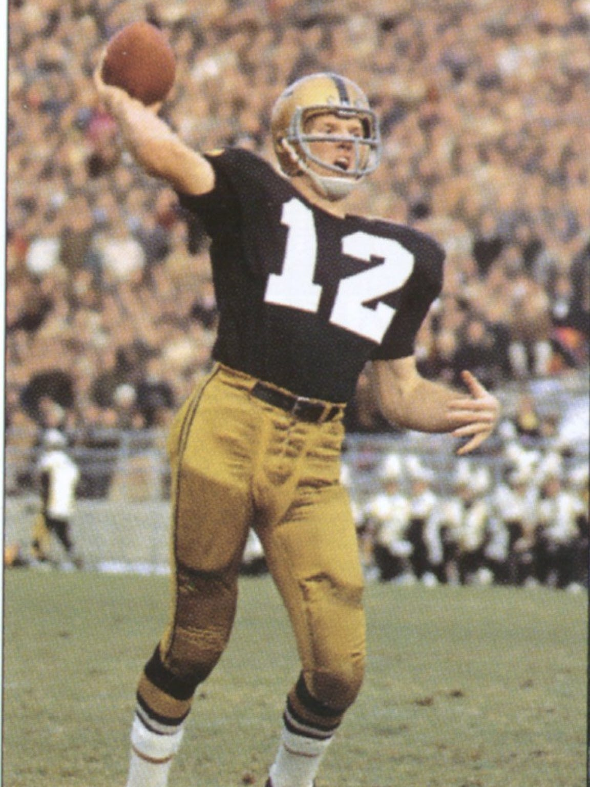 Bob Griese almost didn't get a chance to lead Purdue to its first Rose Bowl in 1967.
