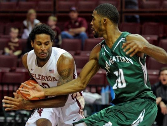 NCAA Basketball: Manhattan at Florida State