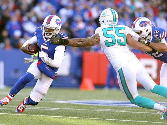 Tyrod Taylor may need to put the ball in the air a bit more against the Jets.