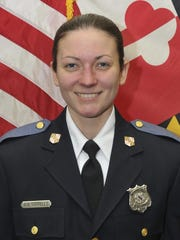 Baltimore County Police officer first class Amy Caprio.