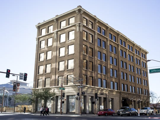 The Barrister Building in downtown Phoenix.