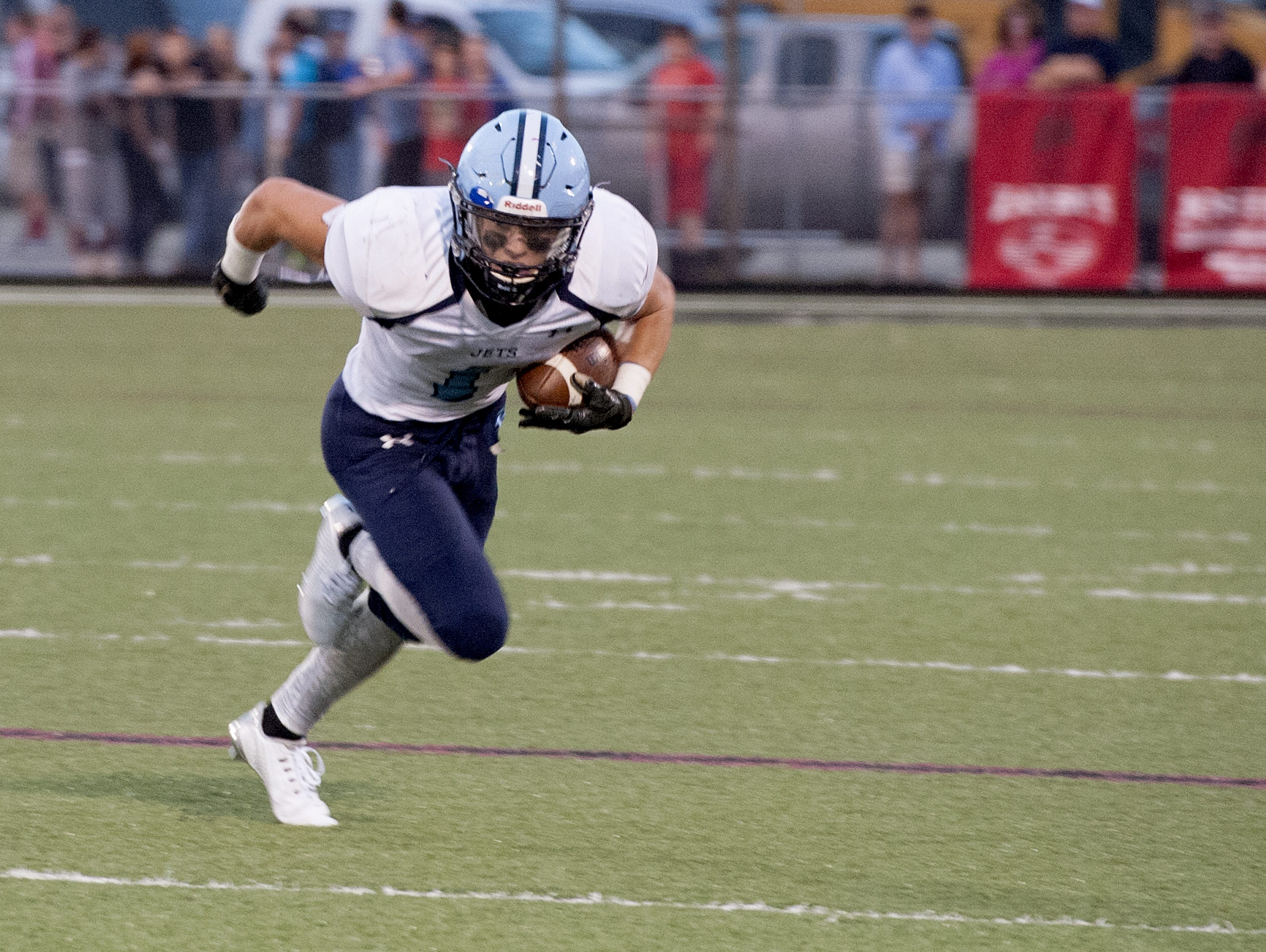 Enka senior Michael Cantrell has committed to play college football for Mars Hill.