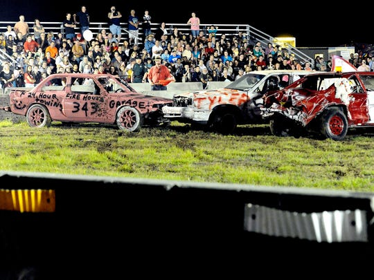 The Demolition Derby comes March 4 to the St. Lucie County Fair in Fort Pierce.
