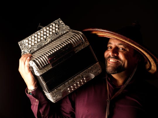 Grammy winner Terrance Simien shares a bill with his daughter, Memphis artist Marcella Simien on Saturday at the Halloran Centre.
