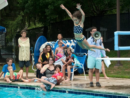 Youth enjoy summer camp at the Asheville Jewish Community Center. The North Asheville facility was subject to a bomb threat last month. A grant from the Community Foundation of Western North Carolina is now helping the agency enhance security.