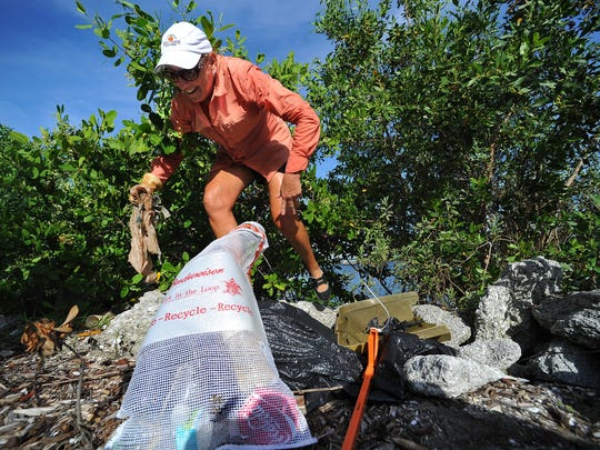 The 12th annual Treasure Coast Waterway Cleanup is 8 a.m. to 12:30 p.m. Saturday at 24 different locations across the area.