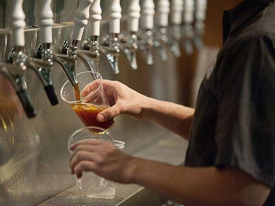 Hundreds flocked to Highland Brewing Company Thursday