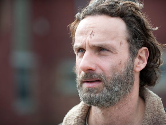 "Rick Grimes (played by Andrew Lincoln) from AMC's ""The"
