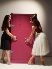 "Alyssa Morris constructed ""Portal"" as part of her examination of a young women's isolation in the modern age."