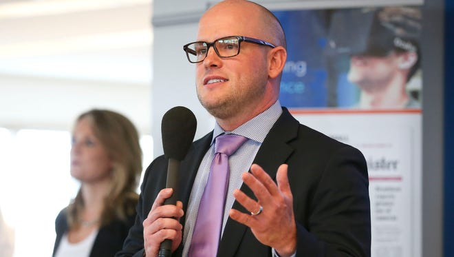 Des Moines native David Chivers was named Thursday as president and publisher of The Des Moines Register and regional president of U.S. Community Publishing Central Group.