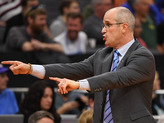 Rhode Island coach Dan Hurley played college ball at
