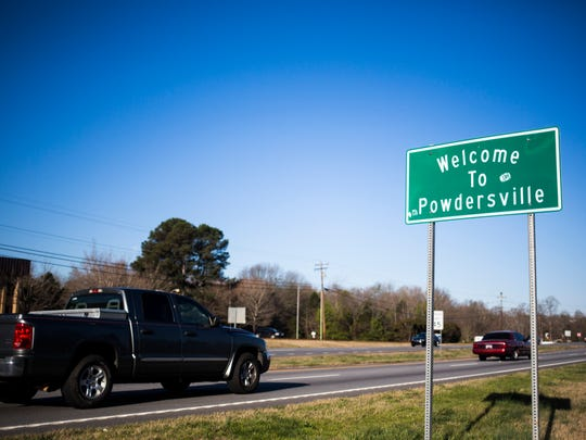 Highway 153 has become a busy roadway recently with the new economic development happening in Powdersville. Highway 153 is photographed on Thursday, March 16, 2017.