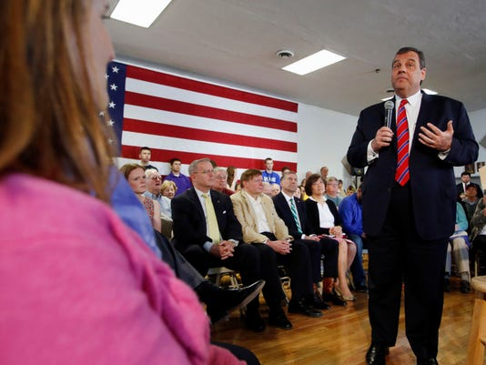 AP GOP 2016 CHRISTIE A ELN USA NH