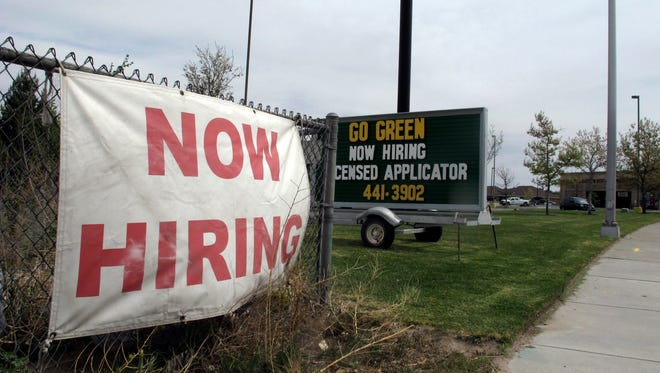 Hiring has accelerated for most of 2014.