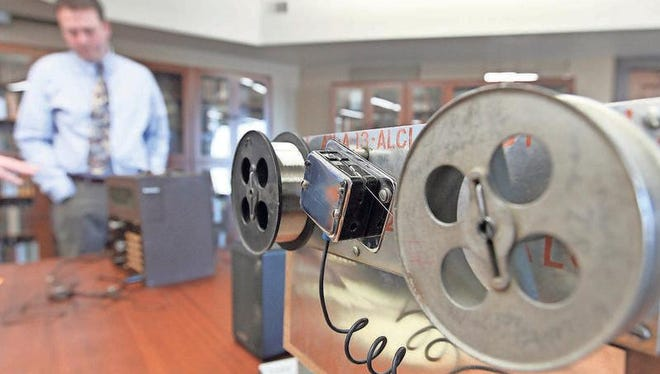 University of Akron multimedia producer Jamie Newell talks about the wire recorder he made from scrounged parts that plays lost songs of concentration camp survivors.