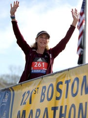 Kathrine Switzer, who was the first official woman