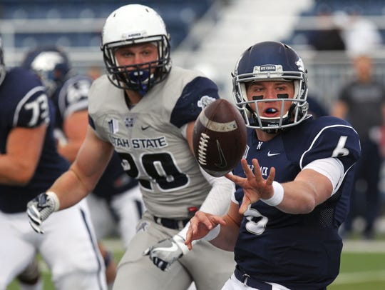 Wolf Pack quarterback Ty Gangi. What a handsome devil.