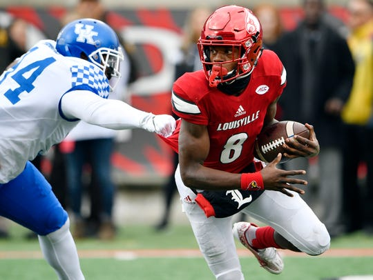 Louisville's Lamar Jackson is the reigning Heisman
