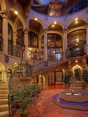 Visitors flock to The Mission Inn to overnight and