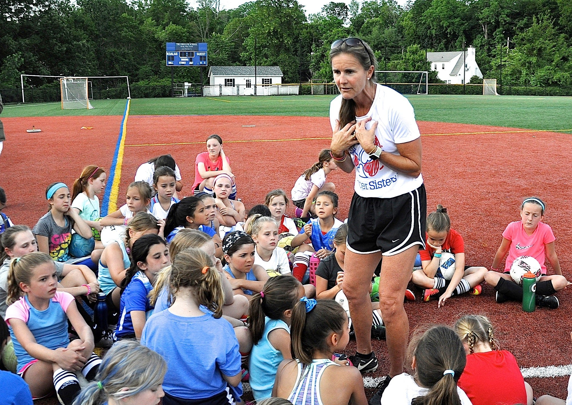 Research on challenging female athletic teens