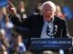 Bernie Sanders speaks at a rally in New York on April 17.