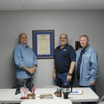 Alamogordo's Disabled American Veterans Chapter 14 will host a Mobile Services Office to assist veterans with questions about VA benefits May 11 between 9 a.m. and 4 p.m. DAV members at their Alamogrodo office, 2230 Lawrence Blvd., (L to R) C.W Rodgers, Alan Berg and Dan Wilcox.