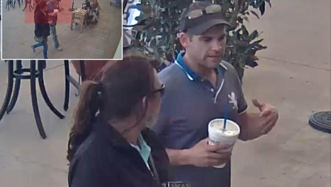 Police are searching for a couple accused of stealing a $500 phone from a store in the 5000 block of Saratoga Boulevard.