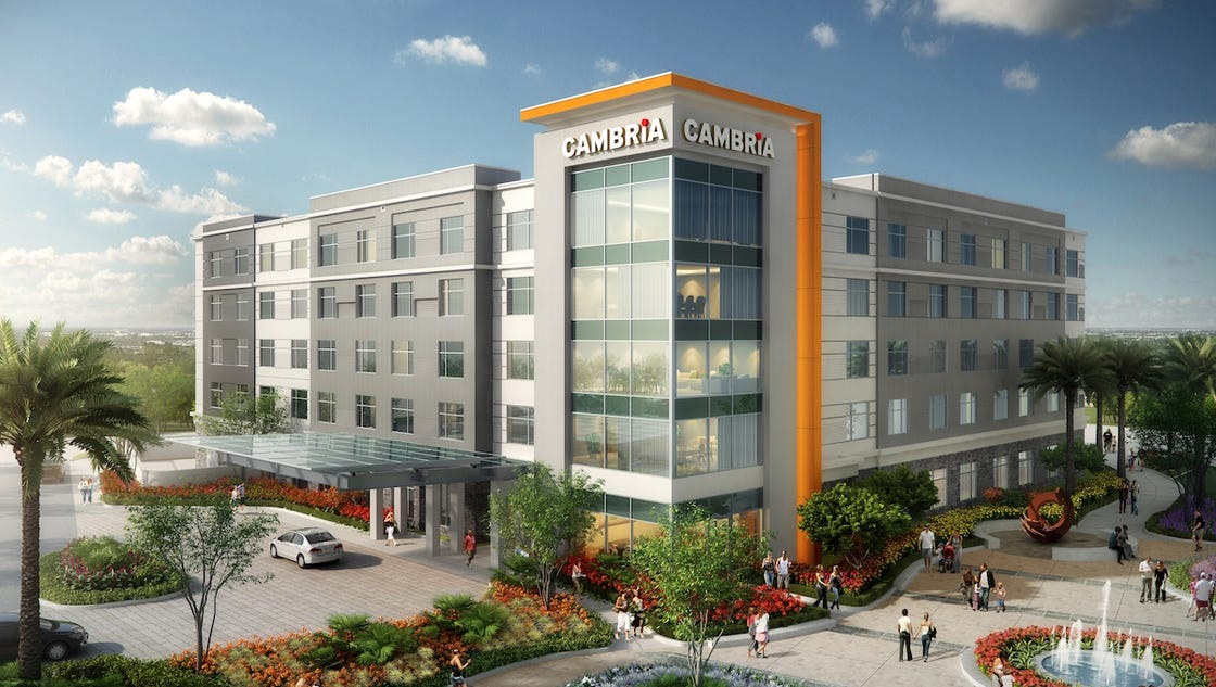 Eyesore No More Construction Starts On Upscale Cambria