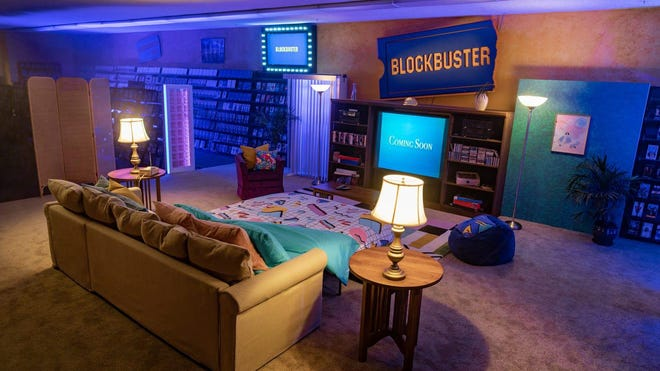 For the first time ever, the world's last Blockbuster is now on Airbnb for Deschutes County residents.