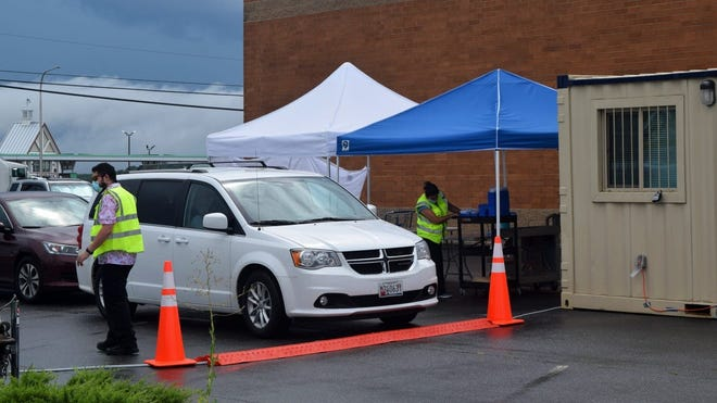 COVID-19 testing continued at the Bridgeville Walgreens on Friday, July 24, 2020.