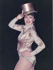 "Susan Santoro Martz in the Broadway show ""A Chorus Line."""