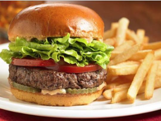 Aioli Gourmet Burger.