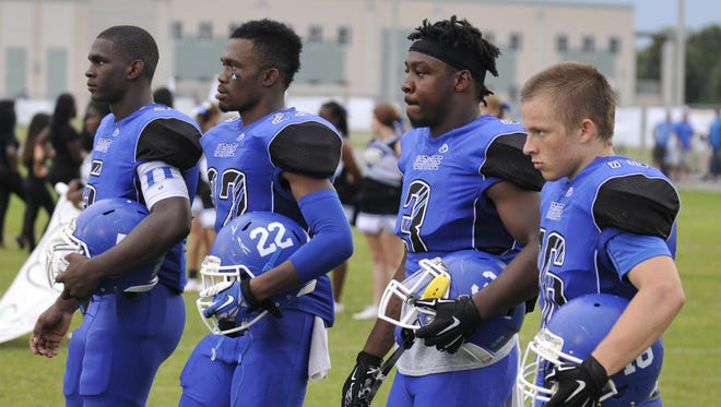 The Heritage Panthers went to Kissimmee to play Osceola on Friday night.