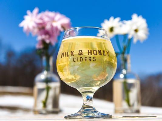 Milk & Honey Peach Cider 1
