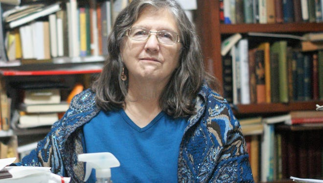 Margaret Fairman, seen at Readers' Cove Used Books and Gallery, is the founder of Deming Silver Linings.
