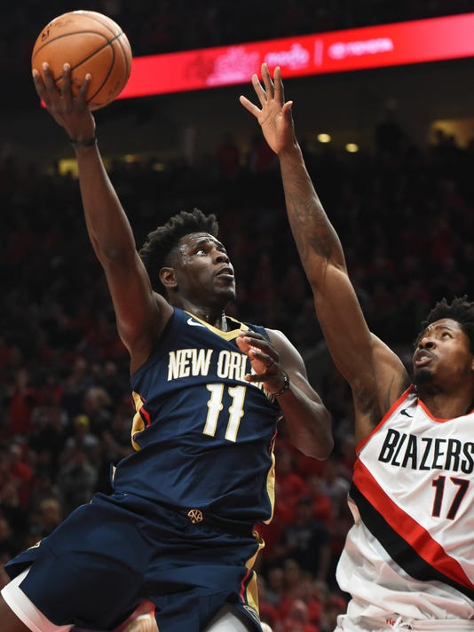 NBA: Playoffs-New Orleans Pelicans at Portland Trail Blazers