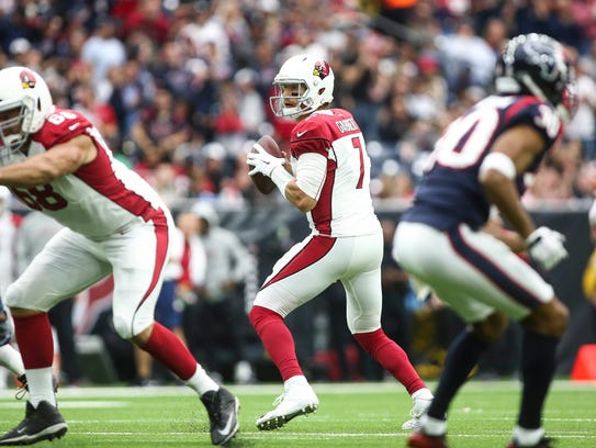 Quarterback Blaine Gabbert will lead the Cardinals against his former team, the Jaguars, on Sunday. How riveting!