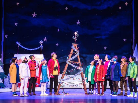 A Charlie Brown Christmas Live on Stage: Schulz's timeless story of the spirit of Christmas, showcases the unforgettable music of Vince Guaraldi, performed by a three-piece ensemble on stage, as well as a concert of beloved holiday carols led by the Peanuts characters.