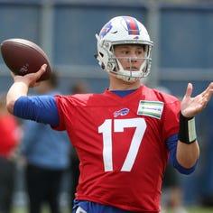 Farm to first round: Buffalo Bills quarterback Josh Allen's long strange trip to the NFL