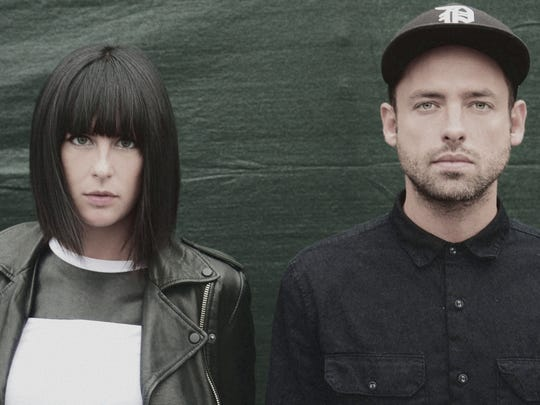 Phantogram is the final act of the weekend on the Hangout