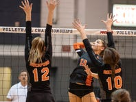 Rockford blocks Northville's Division 1 girls volleyball tourney quest