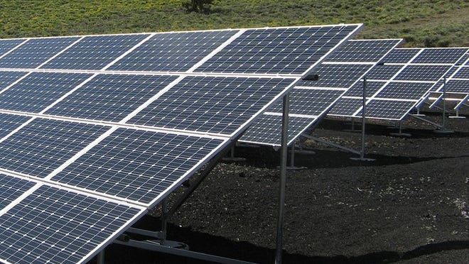 One of Brewster's solar installments, for example, on the capped landfill, saves the town $106,104 a year in electric costs.