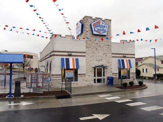 A White Castle restaurant in East Brunswick, NJ