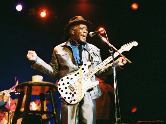 Legendary Blues guitarist Buddy Guy will be at the Chandler Center for the Arts on March 9, 2018.